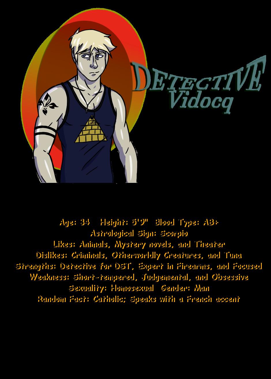 Character Introduction Vidocq